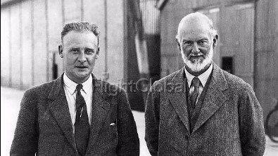 Rj Mitchell and Sir Henry Royce
